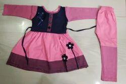 Female Pink Kid's Fashion Ganji Clothes