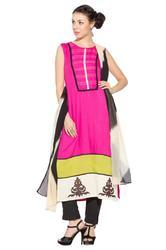 Ladies Designer Long Salwar Suits Long Kurti Kurta