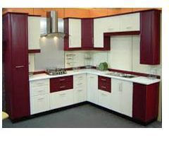 Interior Works Kitchen Interior Wood Work Service Provider From