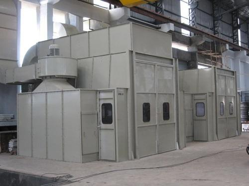 Steel Paint Spray Booths, 440V