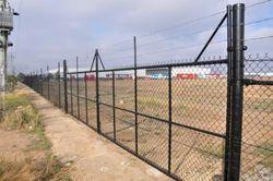 Black Perimeter Boundary Fencing