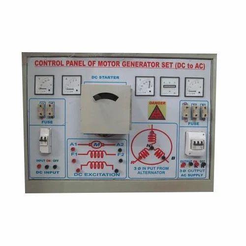 Control Panel Of Motor Generator Set (ac To Dc )