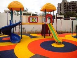 Rubber Floor For Play Equipment