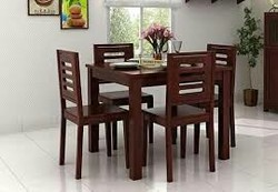 Black And Red Standard Wooden Furniture, Size/Dimension: 4