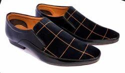 Black Men Party Wear Shoes, Size: 6-10