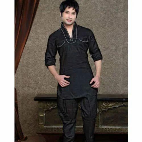 Black Kurta Pajama At Rs 2999 Piece Gents Kurta Pajama Gents