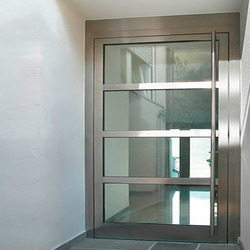 Indigatech Polished Metal Entry Doors, Size: 1.2 x 2.1 m