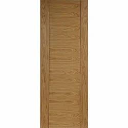 Brown Wood Veneered Doors, For Home, Size/Dimension: Standard