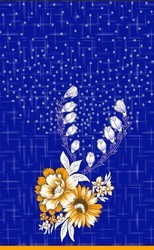 Gujri Print Nighty Fabric