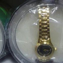 Golden Color Watch