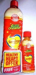 Sundrop Heart Oil 1 Litre Bottle, for Cooking Oil, Easy Open End
