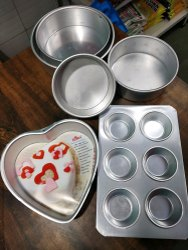 Aluminium Nonstick Cake Baking Trays