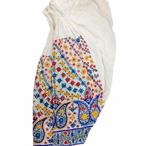 0e9b35e4e6 Bhawana Handicrafts Multicolor Hand Embroidered Pakistani Phulkari Salwar