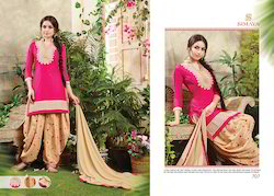 Cotton Embroidered Stylish Designer Salwar Suit