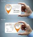 Transparent PVC Business Card