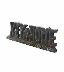 Black Antique MDF Key House Design, Packaging Type: Inner Packing