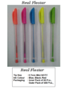 Refillable Plastic Real Flostar Pen, For Writing