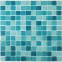 Virtuoso Inc Glass Crystal Mosaic Aqua Blue, For Swimming Pool Tiling, Thickness: 6 - 8 Mm