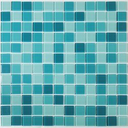 Virtuoso Inc Marble Glass Mosaic Floor Tile, For Swimming Pool Tiling, Thickness: 6 - 8 mm