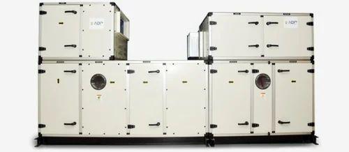 Air Handling Unit With Industrial Dehumidifier