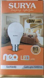 Surya LED Bulb 9watt