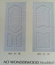 White Standard Panel HDF Skin Door