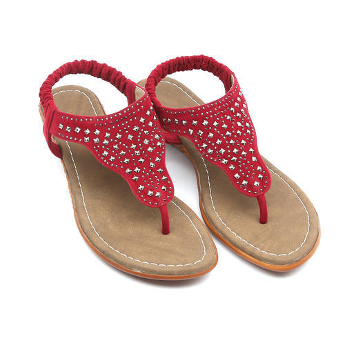 f1606f1cc Ladies Flat Sandals