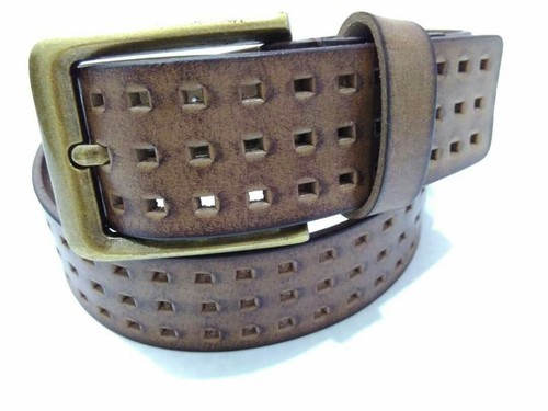 cdc5d7335d7fa Diesel And Tommy Hilfiger Tan And Brown Leather Belts