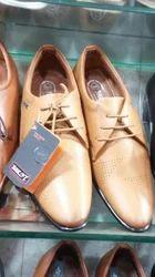 Mens Formal Light Brown Shoes