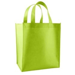 Light Green Non Woven Handbag