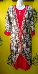 Double Layer Jacket Kurti