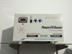 5 Kva Single Phase With Bypass System Stabilizer Power Guard