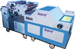 2 Color Poly Offset Printing Machine