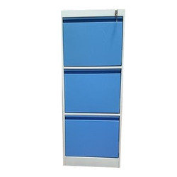 Inbuilt Handle 3 Drawer Vertical Filling Cabinet