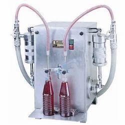Two Bottle Filling Machine