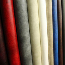 Multicolor Plain PVC Leather for Upholstery, For Furniture Industry