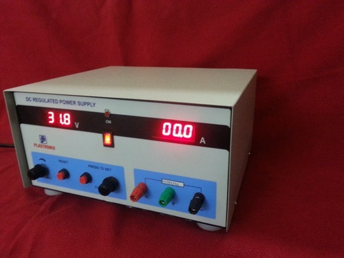 PLASTRONIX MAKE Power Supply 0 To 30 Volt And 0 - 5 A