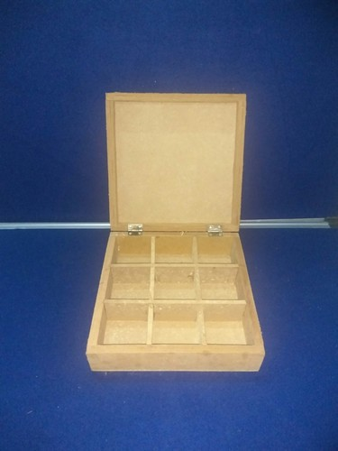 Non-Edible Shreeji Enterprise MDF Boxes, for Gift & Crafts, Standard