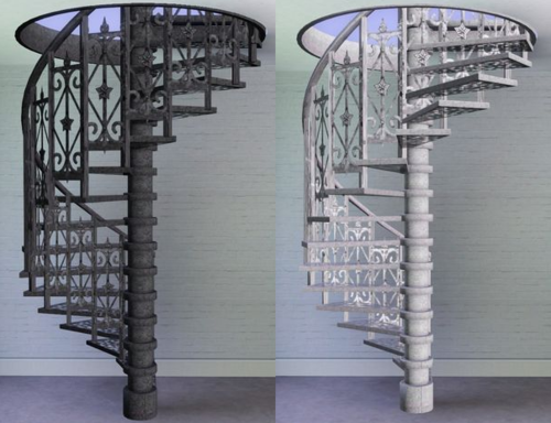 Ms Spiral Staircase At Rs 2500 Per Step Sector 6 Noida Id