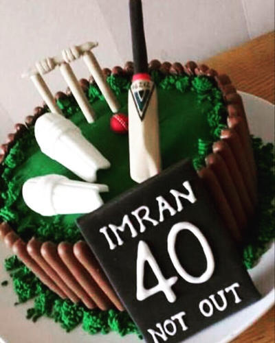 Cricket Theme Cake At Rs 1900 Kilogram