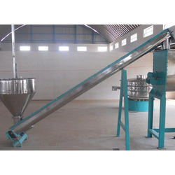 Inclined & Horizontal Screw Conveyors