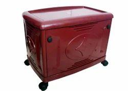 Single Battery Red Inverter Trolley