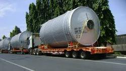 As Instructed Over Dimensional Consignment Services, Capacity / Size Of The Shipment: As Agreed