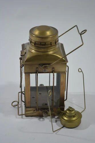 Antique Brass Oil Lantern at Rs 1500 /piece(s) | Oil ...
