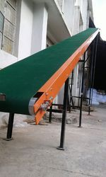 Inclined Roof Top Conveyor