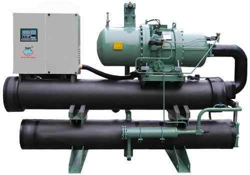 Drycool Three Phase Water Cooled Screw Chiller Capacity