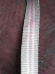 Grey Pink Woven Fabric