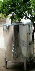 Metal Stainless Steel Water Tank, ss 316, Capacity(litre): 2000