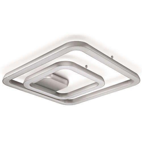 Ceiling Lamp India: LED Aluminium Philips My Living Quad Ceiling Light, 220