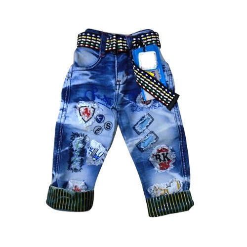 a3086c09b21 Kids Damage Jeans